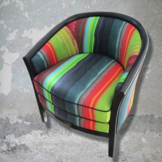 fauteuil rénové par Magali Guiziou